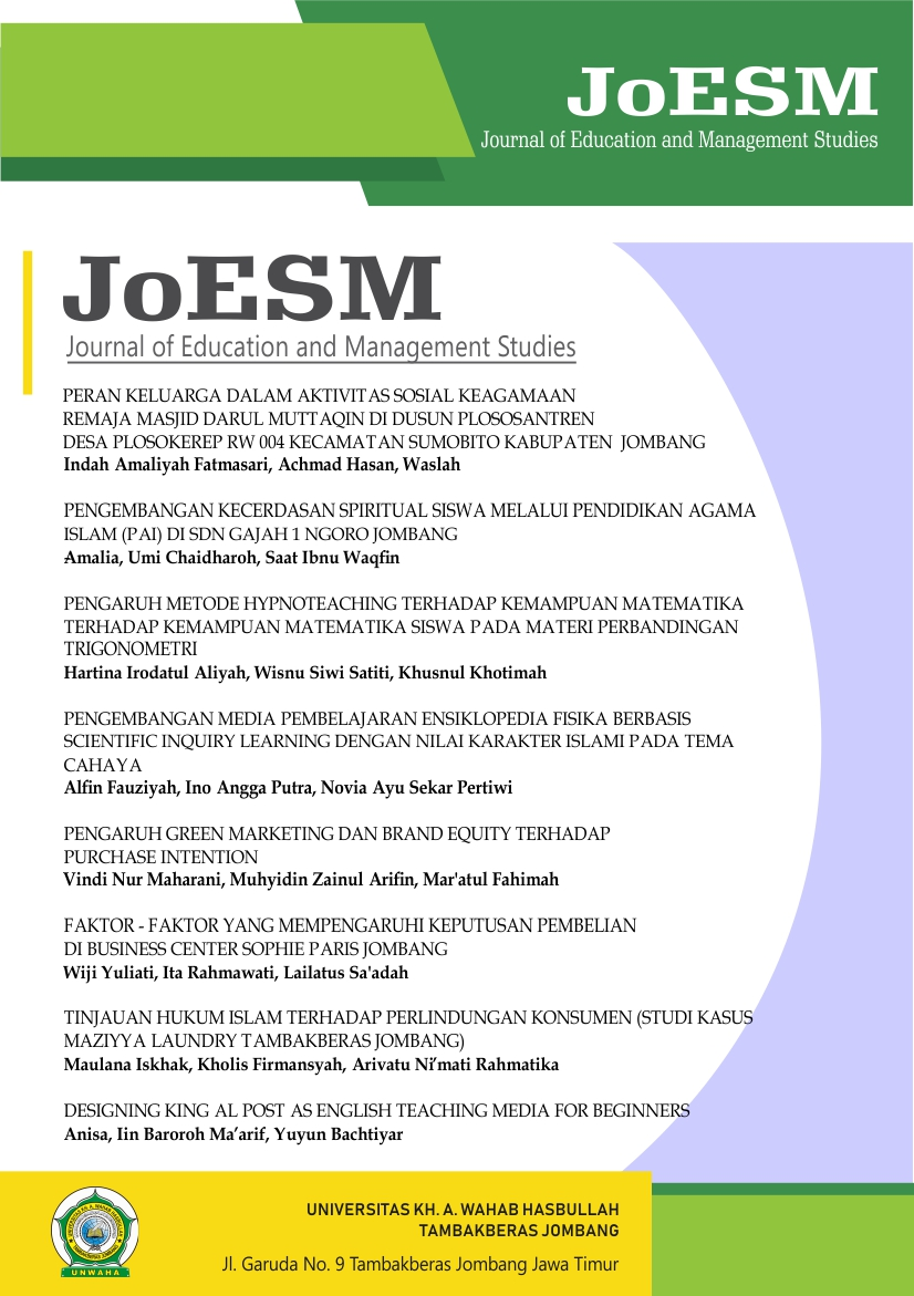 Journal Unwaha